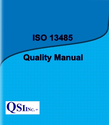 Quality Manual For Medical Devices