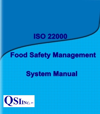 iso 22000 food safety management system manual sample order iso