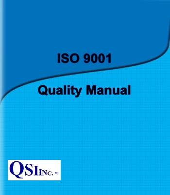 Iso 9001 quality system for small business for Free quality control manual template